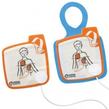 CARDIAC SCIENCE ELECTRODES PEDIATRIQUES DEFIBRILLATEUR G5 TRAINER