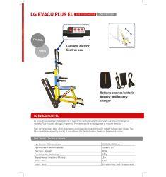 LG EVACU PLUS ELECTRIQUE-Fauteuil de transfert monte-escaliers