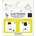 ELECTRODE ENFANT DEFIBRILLATEUR DEFISIGN