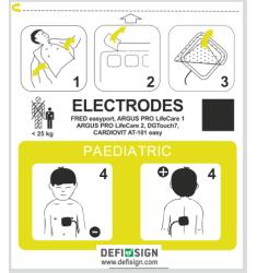 DEFISIGN LIFE ELECTRODE ENFANT