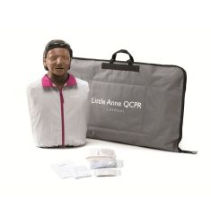 MANNEQUIN SECOURISME LAERDAL LITTLE ANNE QCPR VERSION NOIR