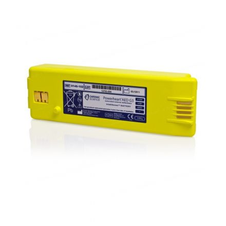 BATTERIE CARDIAC SCIENCE POWERHEART G3 ET G3 PLUS