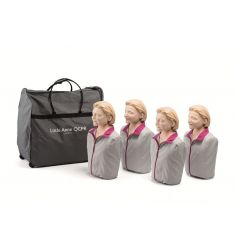LAERDAL PACK 4 MANNEQUINS LITTLE ANNE QCPR