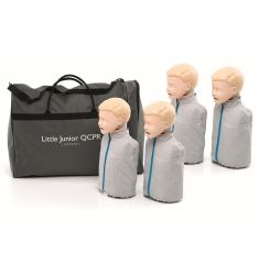 LAERDAL LITTLE JUNIOR QCPR PACK 4 MANNEQUINS