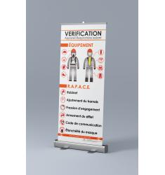 Roll-up Appareil Respiratoire Isolant (ARI) verification