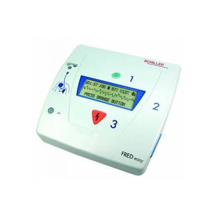 SCHILLER DEFIBRILLATEUR SEMI AUTOMATIQUE FRED EASY