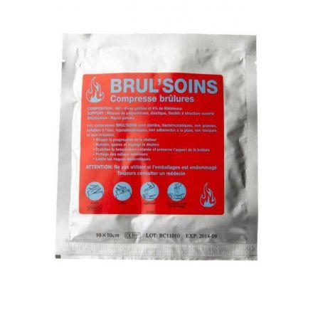 COMPRESSES BRUL SOINS 10 X 10 CM