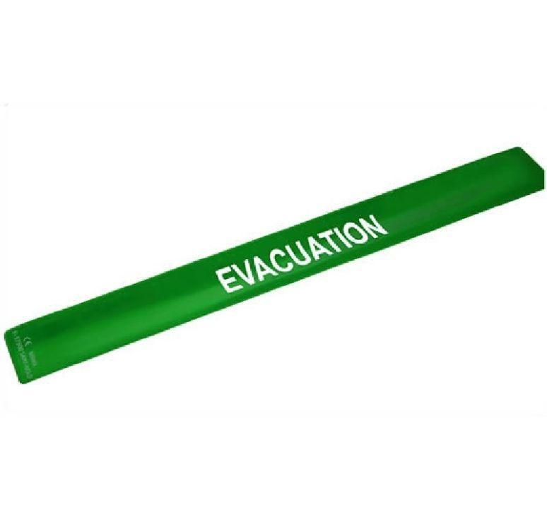 brassard evacuation vert auto enroulant. Black Bedroom Furniture Sets. Home Design Ideas