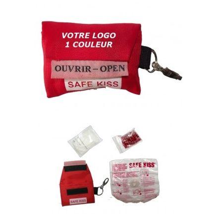 SAFE KISS PERSONALISE 1 COULEUR (Mini 300 pièces)