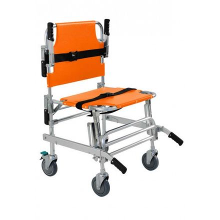 CHAISE EVACUATION TRANSFERT 4 ROUES
