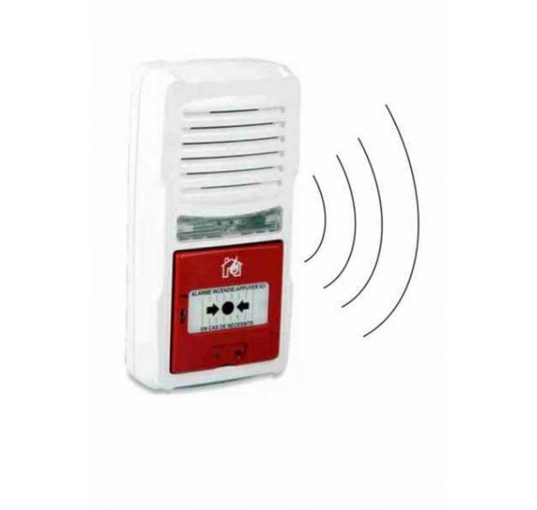 alarme incendie type 4 a pile avec interconnexion radio alarmes inc. Black Bedroom Furniture Sets. Home Design Ideas
