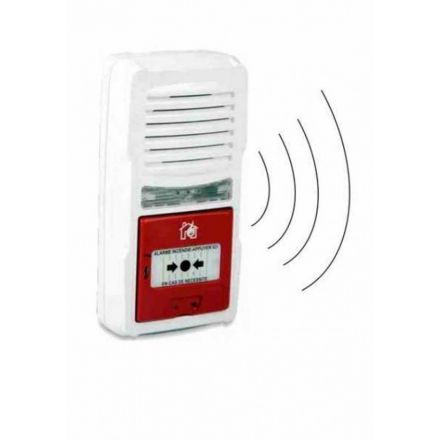 ALARME INCENDIE TYPE 4 A PILE AVEC INTERCONNEXION RADIO