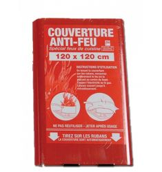 COUVERTURE ANTI FEU 120X120