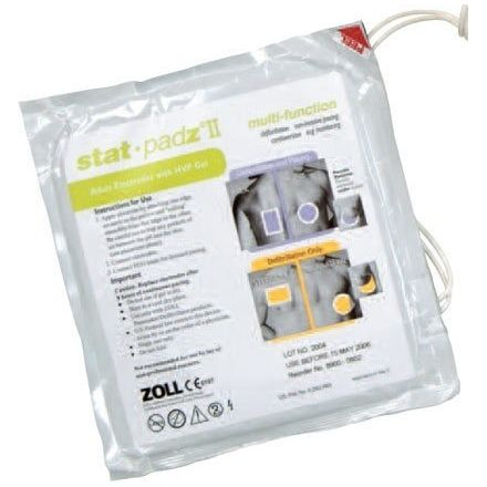 ZOLL ELECTRODES ADULTE STAT PADZ II PAIRE