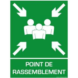 SIGNALETIQUE POINT DE RASSEMBLEMENT