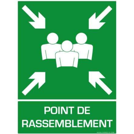 SIGNALETIQUE POINT DE RASSEMBLEMENT